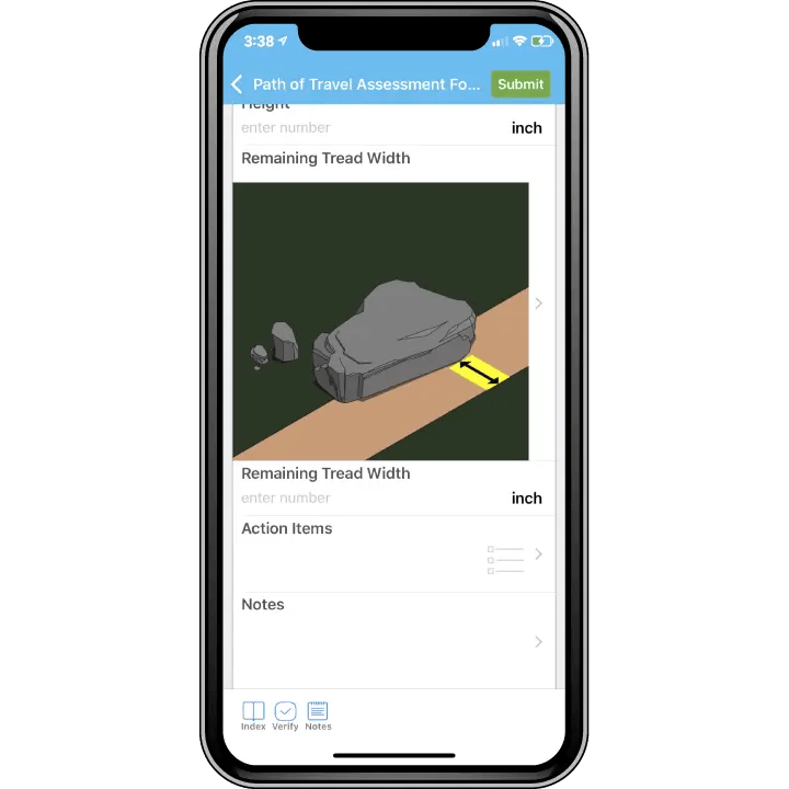 Mobile phone with DORAP app