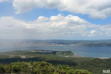 Vue sur Kagoshima et Kirishima