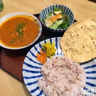 Tsuki to kame, restaurant de curry à Akizuki, Fukuoka