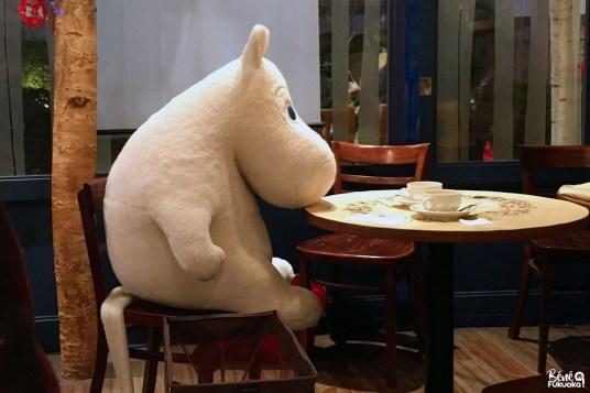 Moomin Cafe, Fukuoka