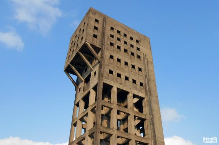 La tour de la mine de Shime ou la forteresse anti-zombie de Fukuoka
