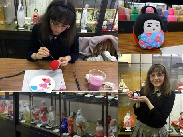 Expérience : peindre une poupée de Hakata