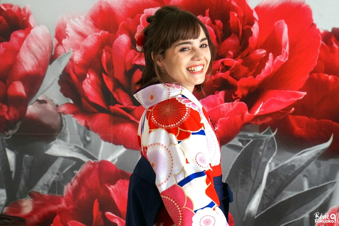 Ma séance photo en kimono