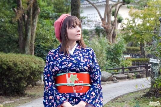 Séance photo en kimono, Kitsuki, Ôita