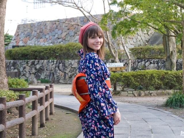 À la découverte de Kitsuki en kimono