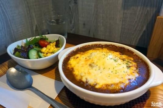 Curry gratiné (yaki curry), Mojikô Saryô, Kita-Kyûshû