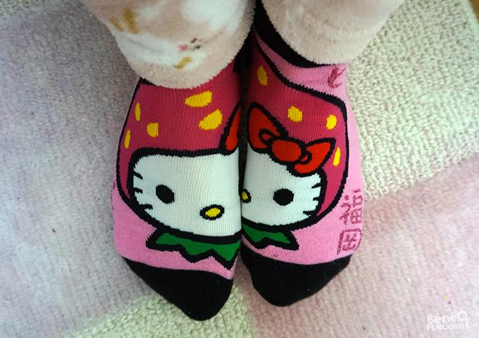 Chaussettes Hello Kitty, Fukuoka