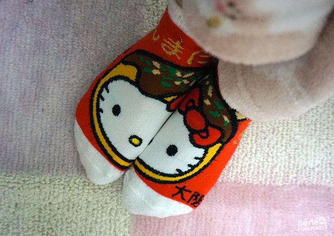 Chaussettes Hello Kitty, Osaka