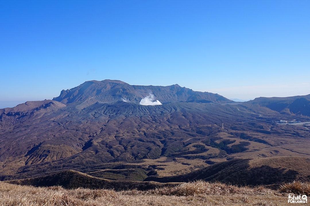 Le mont Aso, Kumamoto