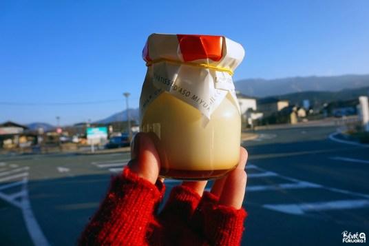 Pudding du mont Aso, Aso, Kumamoto