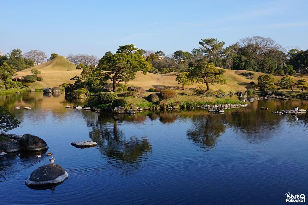 Jardin Suizen-ji, Kumamoto