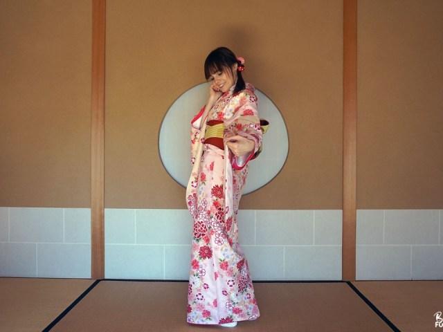 Fukuoka Kimono Walk #3 – Jardin Shôfû-en