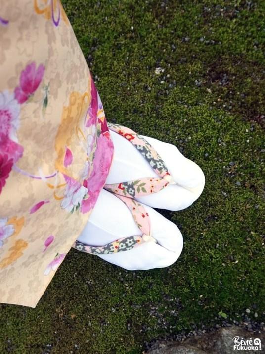 Kimono de printemps, Fukuoka
