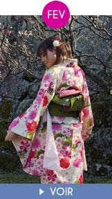 Fukuoka Kimono Walk - février