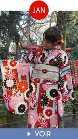 Fukuoka Kimono Walk - janvier