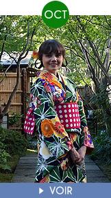 Fukuoka Kimono Walk - Octobre