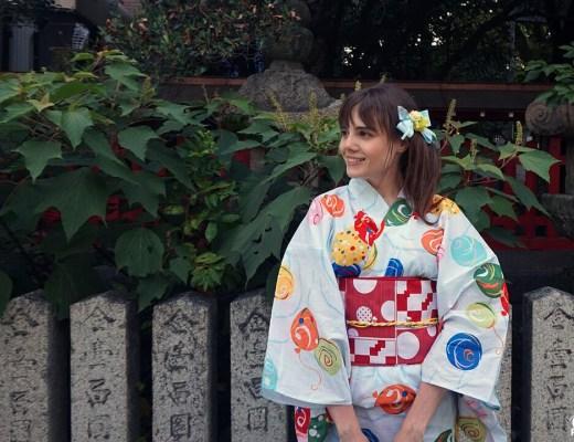 Fukuoka Kimono Walk #7 - Torikai Hachimangû