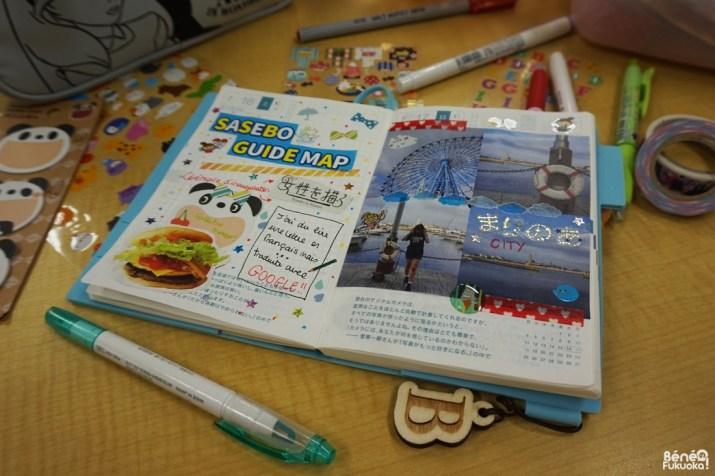 Hobonichi, agenda japonais, Sasebo