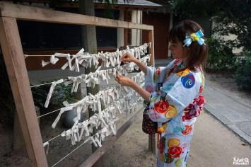 Fukuoka Kimono Walk, Torikai Hachimangû