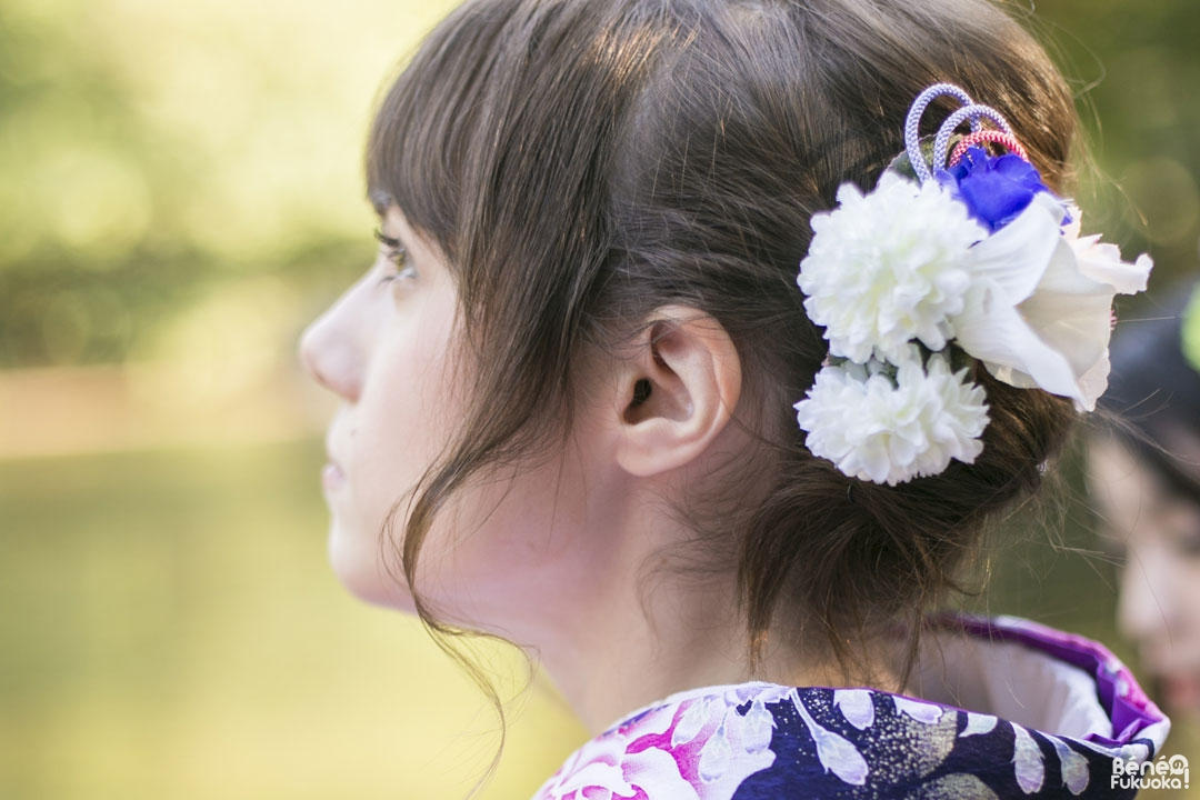 Coiffure kimono septembre