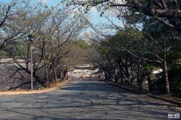 Château de Kumamoto, remparts écroulées