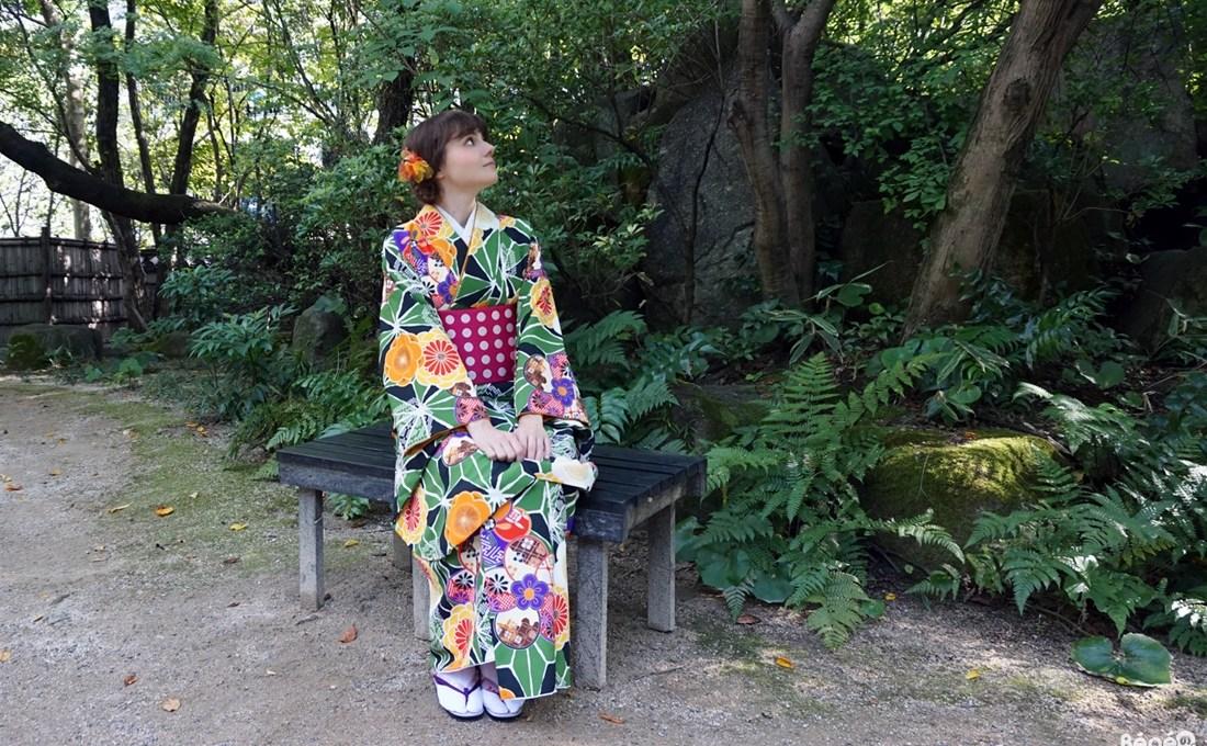 Fukuoka Kimono Walk #10 – Rakusuien