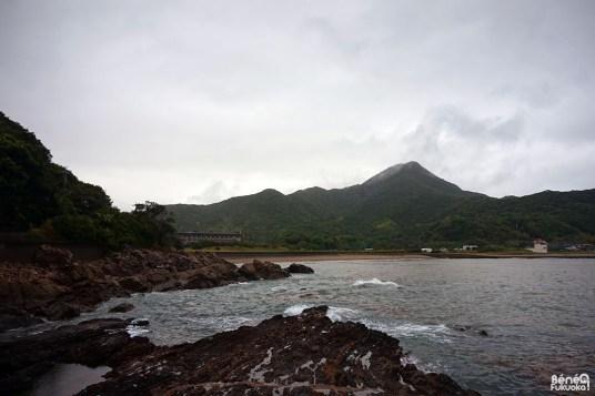 Le bord de mer de Kagoshima