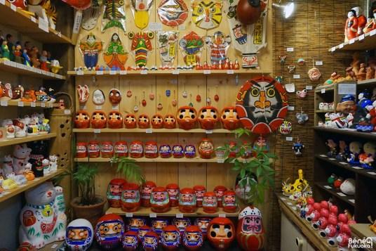 Boutique de daruma Yamabikoya, Fukuoka