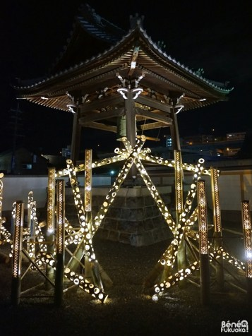 Hakata Light Up Walk, Zendô-ji, Fukuoka