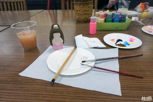 Peinture sur poupée d'Hakata
