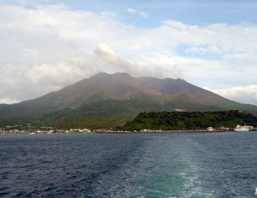 Volcan Sakurajima, Kagoshima