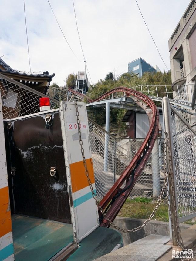 Le monte-charge de Genkaijima, Fukuoka