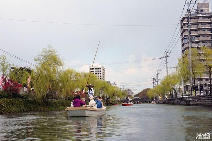 Croisière sur les canaux de Yanagawa, Fukuoka