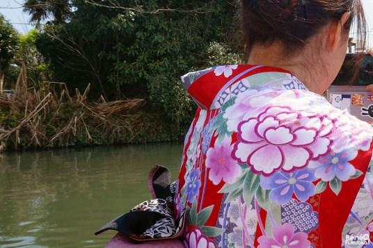 Joranne en kimono, Yanagawa