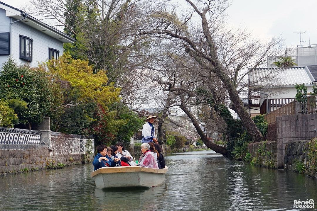 Croisière sur les canaux de Yanagawa