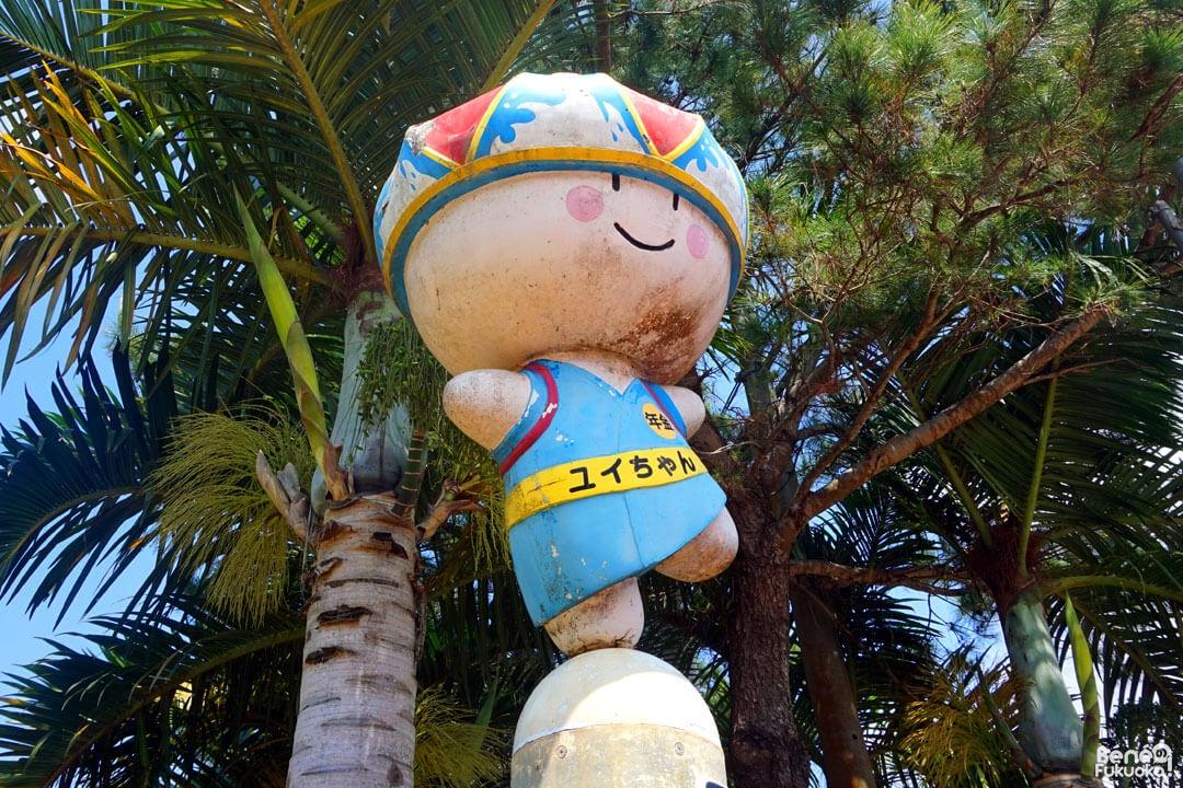 Yui-chan, l'ancienne mascotte de Miyakojima