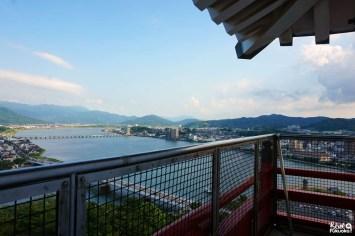 Balcon du château de Karatsu