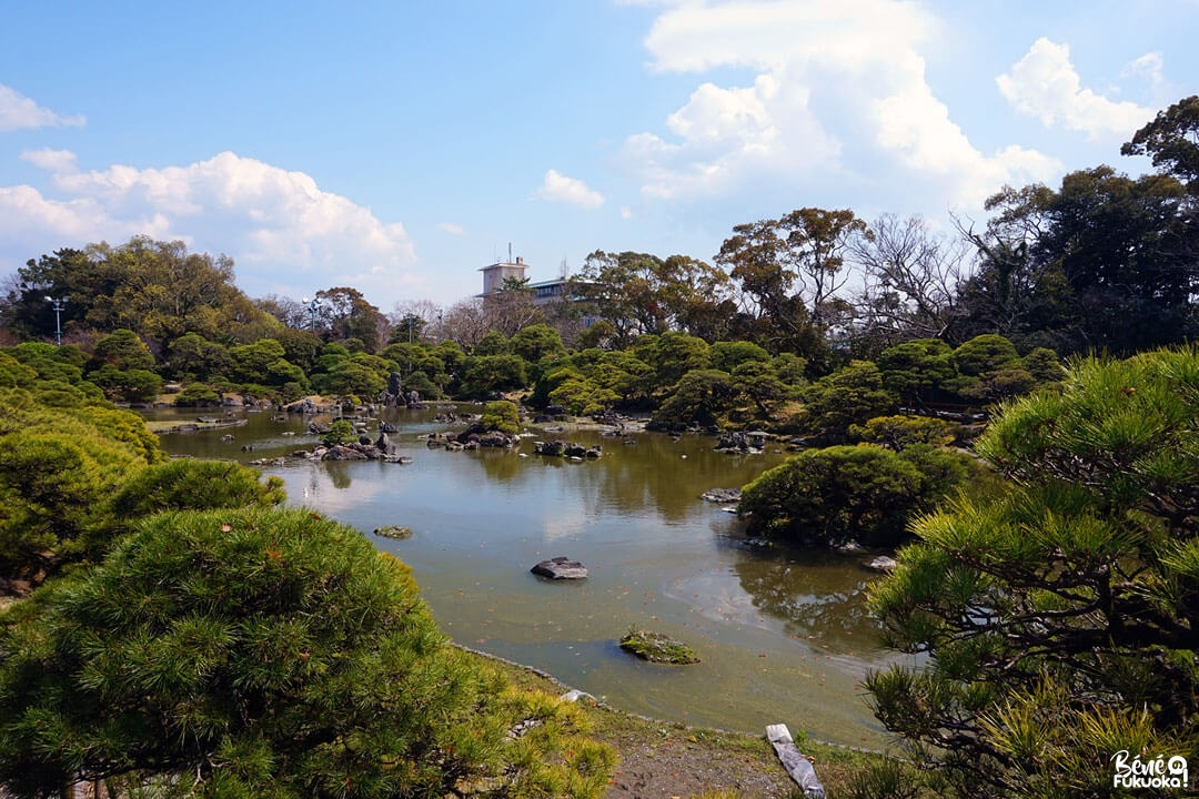 Jardin de la résidence Ohana, Yanagawa, Fukuoka