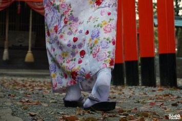 Fukuoka Kimono Walk (à Yanagawa) avc Joranne