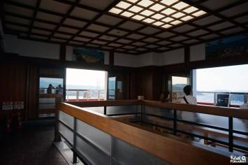 Dernier étage du château de Karatsu