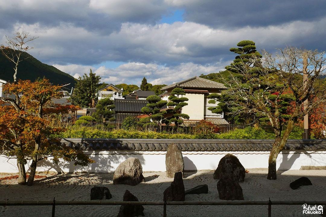Le jardin zen du temple Kômyô-zen-ji, Dazaifu, Fukuoka