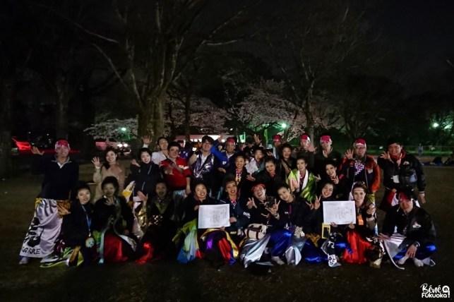 3ème place au festival de yosakoi Kyûshû Gassai