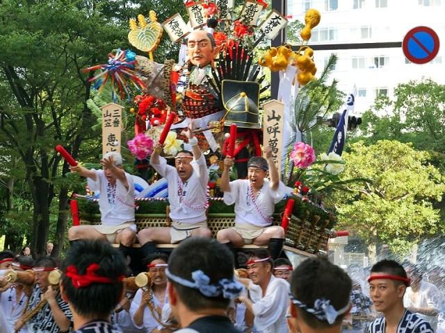 Oisa oisa ! Le festival Yamakasa