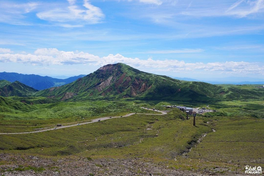 L'ancien téléphérique du mont Aso, Kumamoto