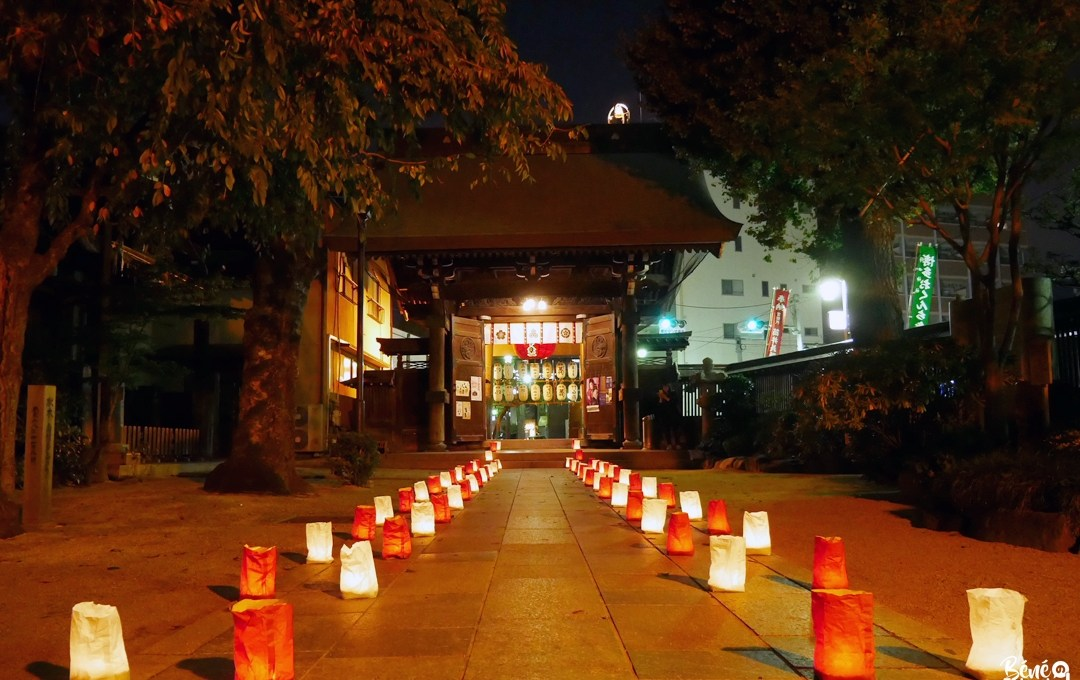 Le festival Hakata Okunchi et son illumination aux lanternes