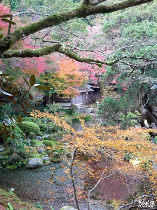 Jardin japonais du temple Raizan Sennyoji Daihiô-in, ville d'Itoshima, Fukuoka
