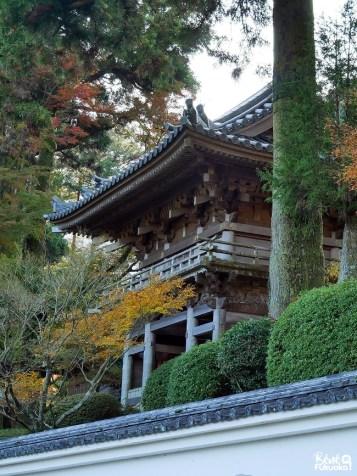 Porte du temple Raizan Sennyoji Daihiô-in, ville d'Itoshima, Fukuoka