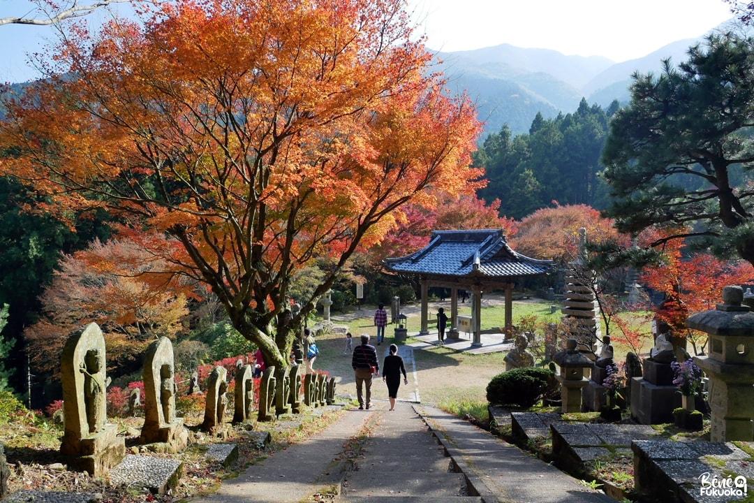 Buttô sôtô, temple Raizan Sennyoji Daihiô-in, ville d'Itoshima, Fukuoka