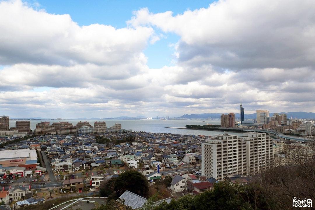 Vue sur Fukuoka depuis le sanctuaire Atago, Fukuoka