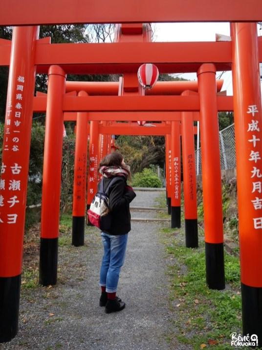 Vers le sanctuaire Atago, Fukuoka